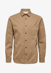 Selected Homme - REGULAR FIT - Overhemd - petrified oak - 5