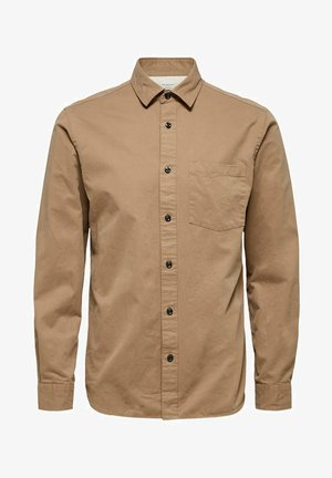 REGULAR FIT - Camicia - petrified oak