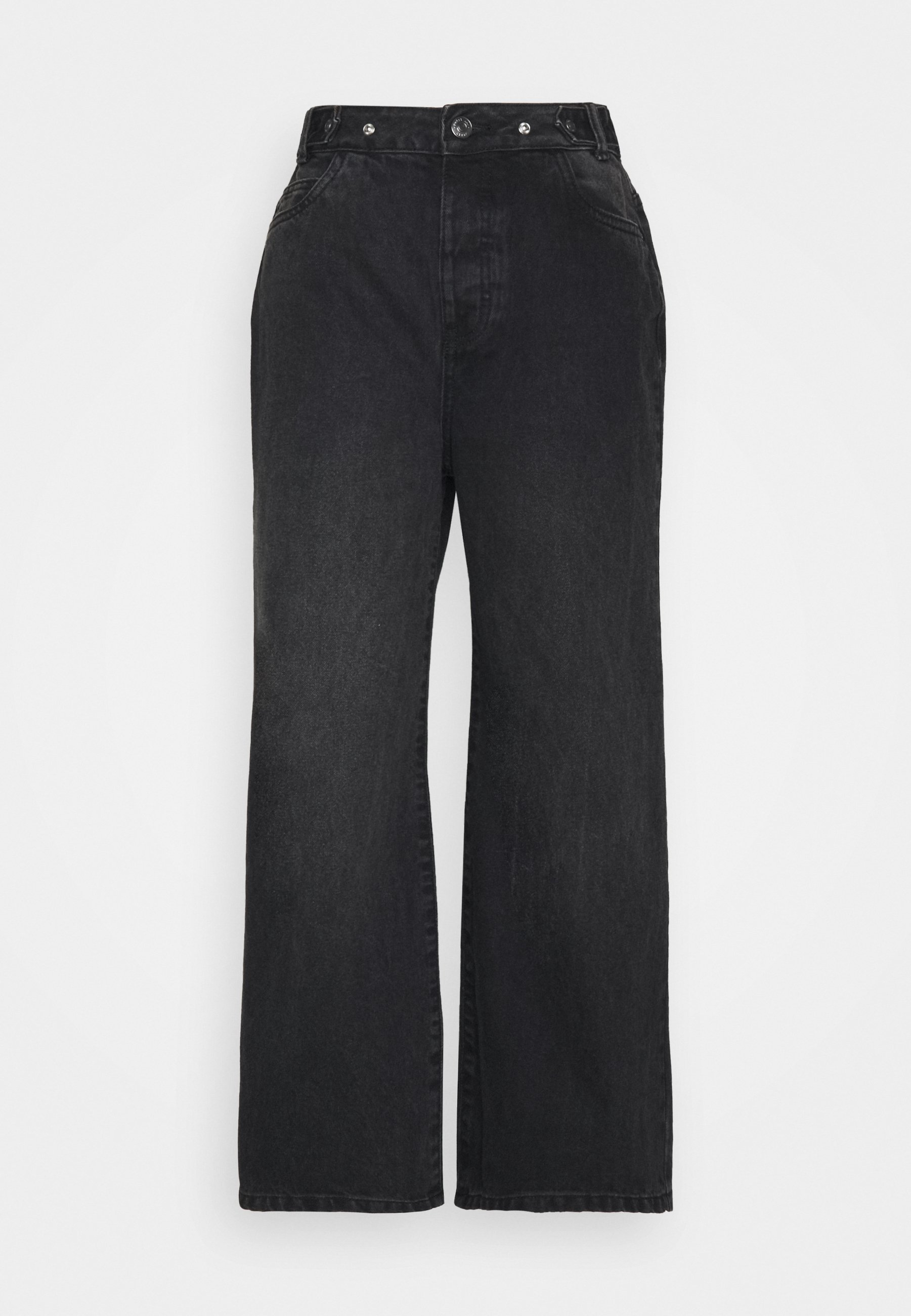 Women NMASHLEY RELAXED WIDE LEG  - Relaxed fit jeans