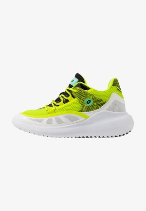 SMART IV AMF BLOCK - Sports shoes - all white/all black/acacia green