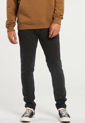 Straight leg jeans - ink black