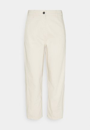 NATURAL OPTIC - Relaxed fit -farkut - white