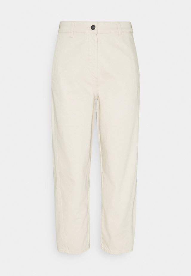 NATURAL OPTIC - Jeans Relaxed Fit - white