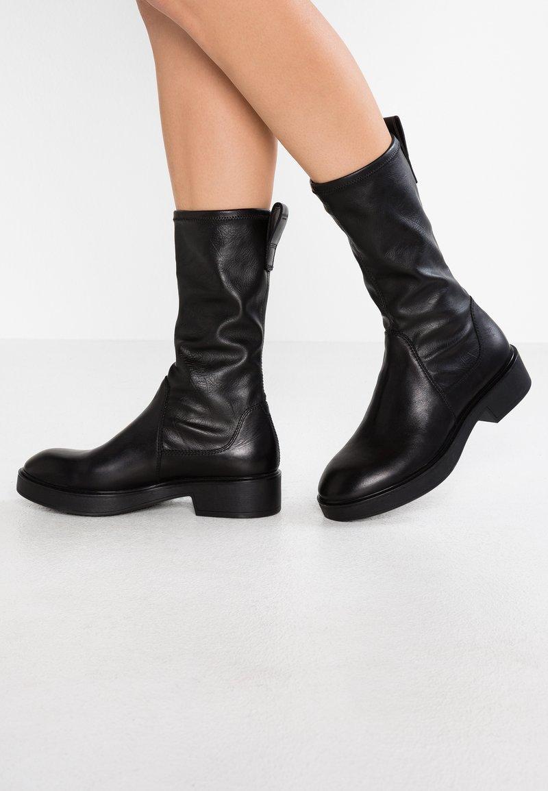 Vagabond - DIANE - Platåstøvler - black