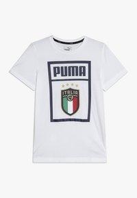 Puma - ITALIEN FIGC PUMA DNA TEE - Oblečení národního týmu - white - 0