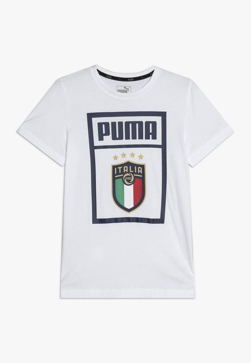 Puma - ITALIEN FIGC PUMA DNA TEE - Oblečení národního týmu - white