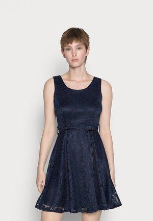 LIMMY SKATER DRESS - Koktejlové šaty/ šaty na párty - navy blue