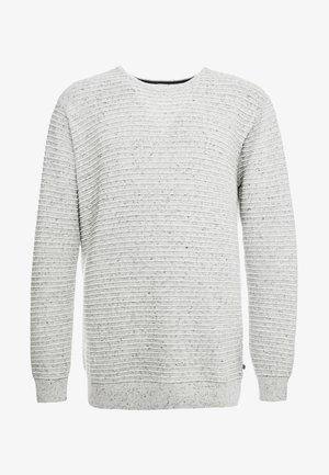 CREW NECK - Pullover - grey melange
