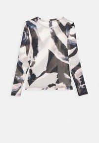 ONLY - ONLRHONWEN - Topper langermet - black/white graphic - 1