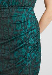 Ivyrevel - FRONT WRAP DRESS - Shift dress - green - 6