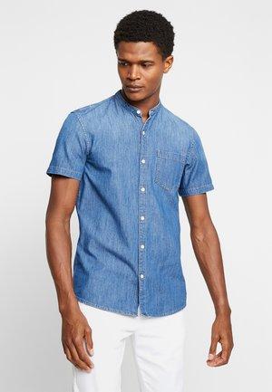 Shirt - stone blue denim