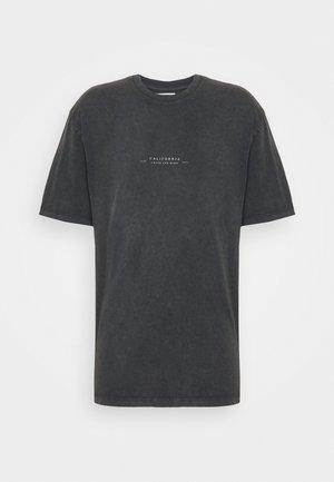 BIRD ON FIRE WASH PRINT  - Print T-shirt - black