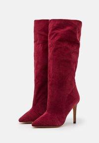 Iro - STEVIE - Laarzen met hoge hak - burgundy - 2
