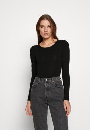 KATHLIN - Long sleeved top - black