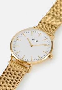 Cluse - BOHO CHIC - Rannekello - gold-coloured/white - 4