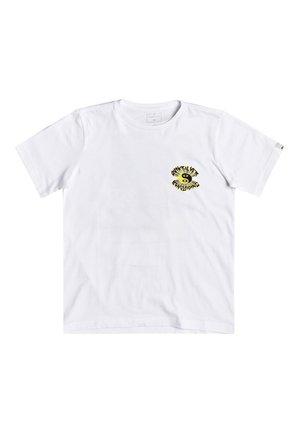 QUIKSILVER™ X RAY CAFÉ - T-SHIRT FÜR JUNGEN 8-16 EQBZT04132 - Print T-shirt - white