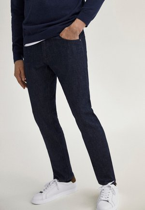 JOGGING-FIT - Chinos - blue-black denim