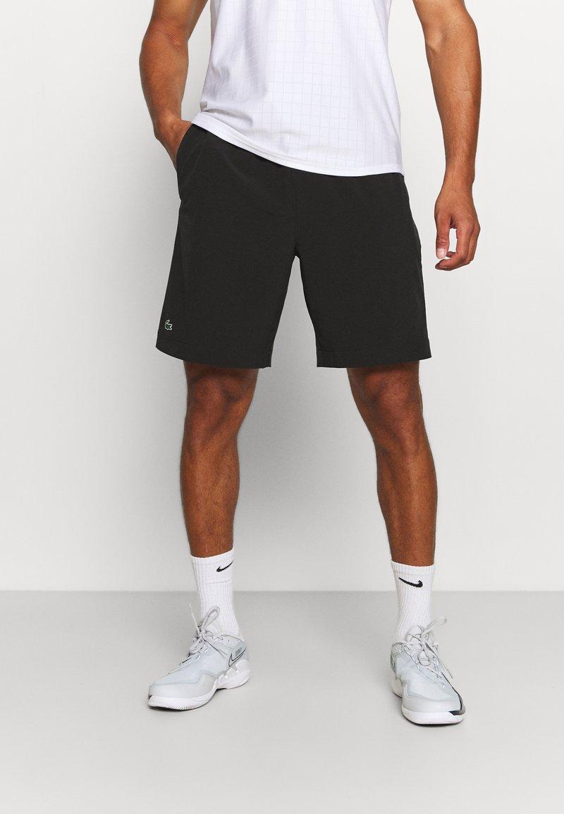 Lacoste Sport - TENNIS SHORT - Sports shorts - noir/blanc