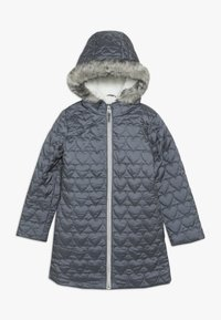 mothercare - OUT PADDED COAT QUILTED HEART  - Winter coat - grey - 0