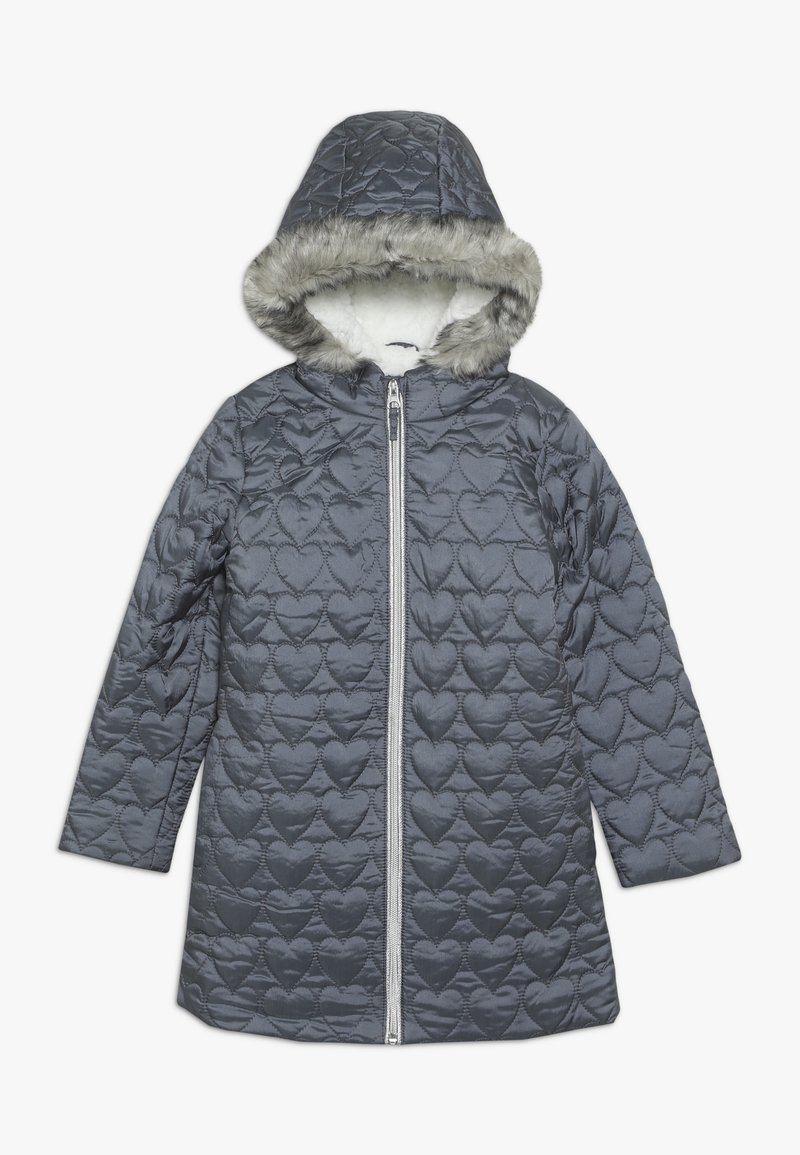 mothercare - OUT PADDED COAT QUILTED HEART  - Winter coat - grey