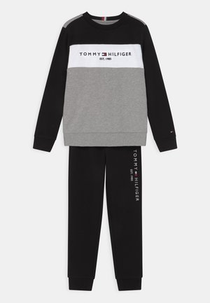 ESSENTIAL COLORBLOCK SET - Trainingspak - grey