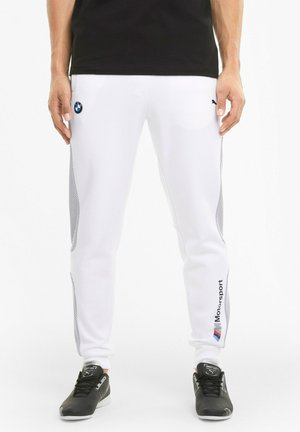 BMW M MOTORSPORT  - Tracksuit bottoms - white