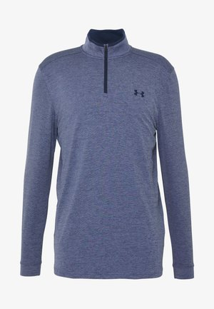 PLAYOFF 1/4 ZIP - Sports shirt - blue ink