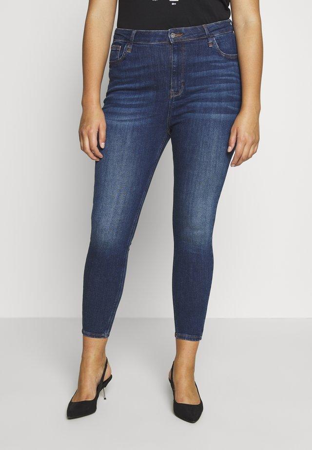 Skinny džíny - blue dark