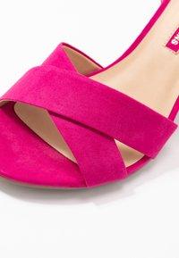 Dorothy Perkins - SERENA UPDATE - High heeled sandals - bright pink - 2