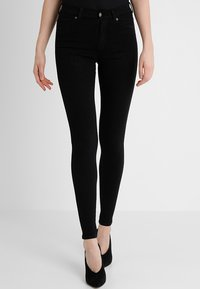 Dr.Denim Tall - Jeans Skinny Fit - black - 0