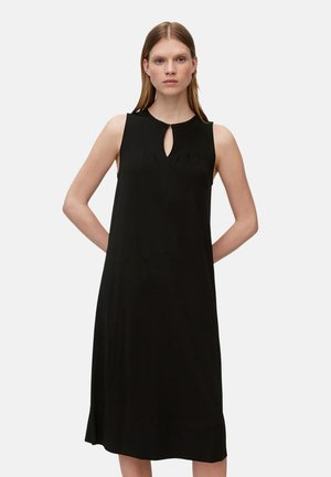 JERSEY DRESS - Vapaa-ajan mekko - black