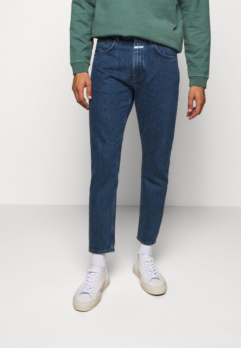 CLOSED - EXCLUSIVE COOPER - Džíny Slim Fit - dark blue