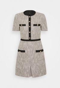 maje - RINIE - Shift dress - argent - 0