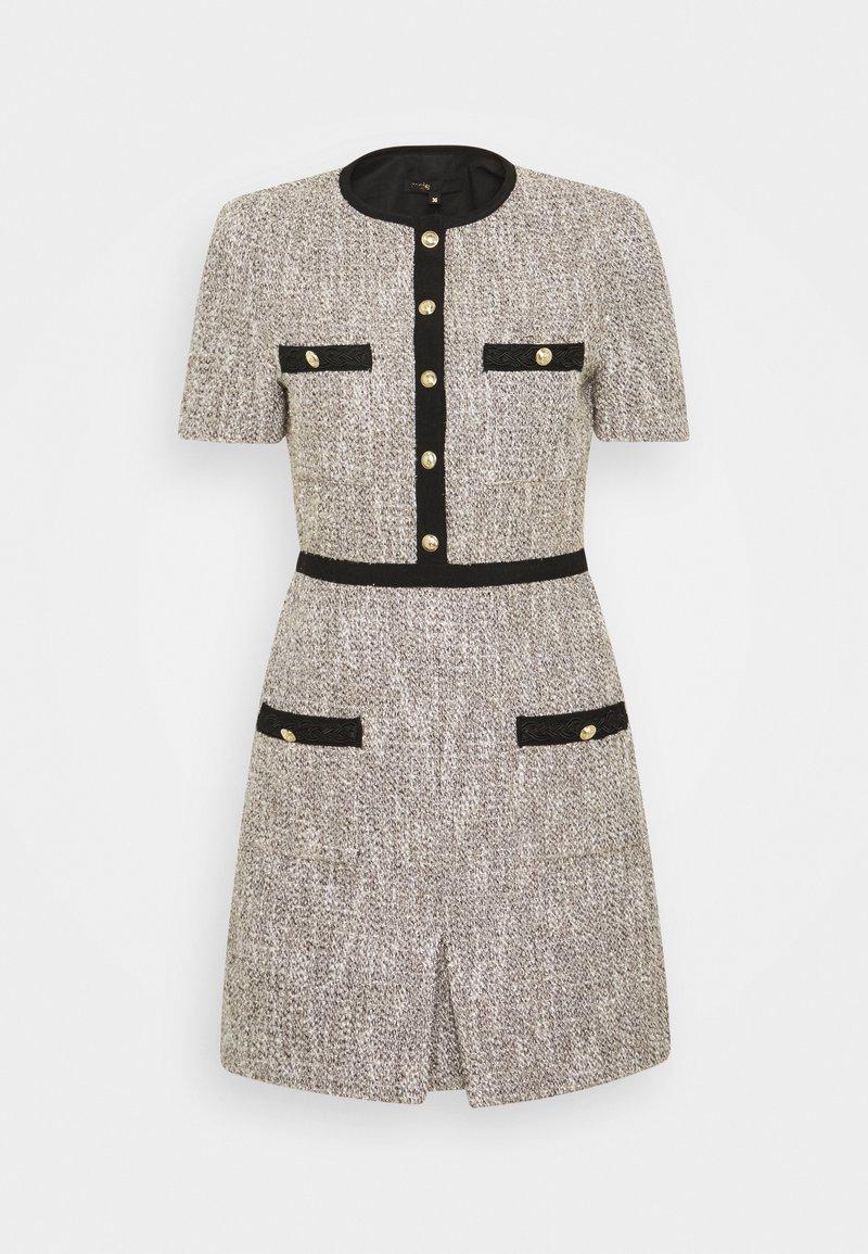maje - RINIE - Shift dress - argent