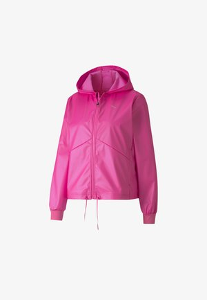 TRAIN WARM UP JACKET - Training jacket - luminous pink