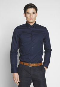 Seidensticker - BUSINESS KENT - Formal shirt - dark blue - 0