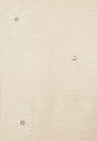 New Look - CHRISTMAS SNOWFLAKE JUMPER - Maglione - oatmeal - 2