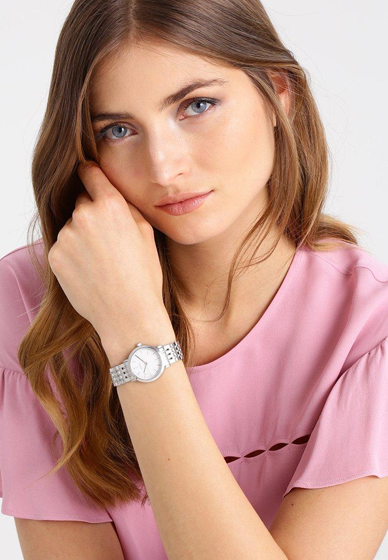 DKNY - MINETTA - Zegarek - silber