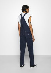 Tommy Jeans - DUNGAREE - Dungarees - oslo dark blue com - 2