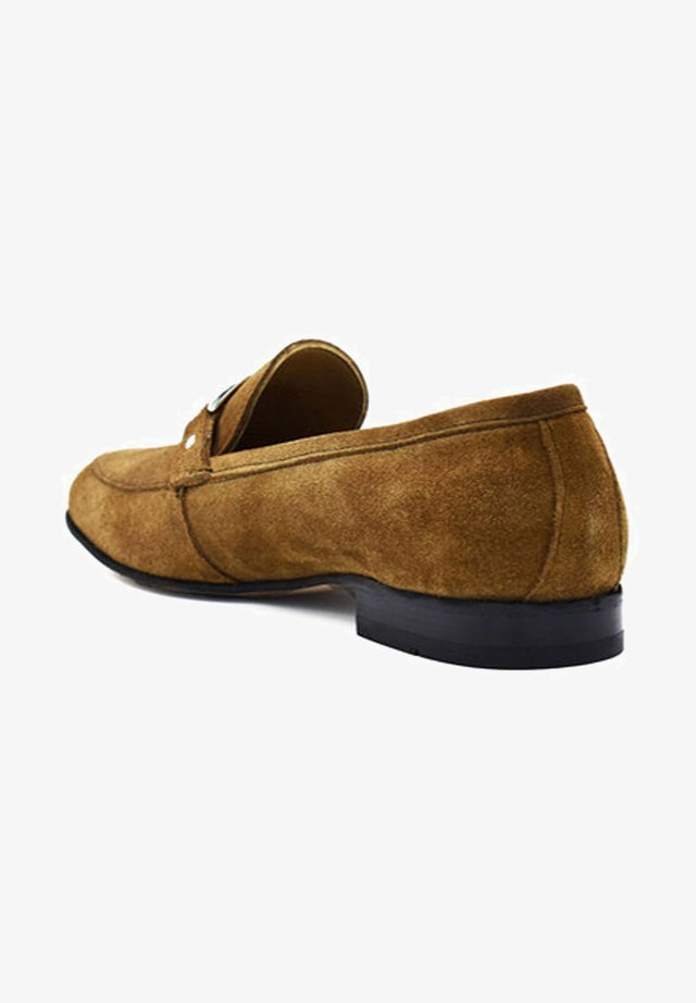 Loaferit/pistokkaat - cinnamon brown