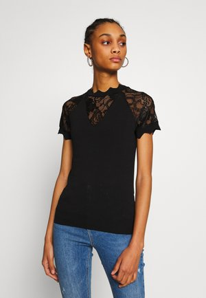 MARY - Print T-shirt - noir