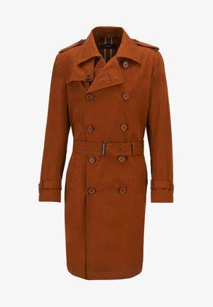 Trenchcoat - open brown
