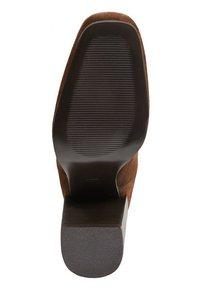 Mango - WEEK - Laarzen met hoge hak - chocolate - 3