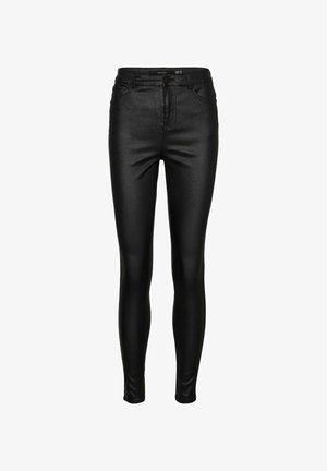VMSOPHIA HIGH WAIST - Trousers - black