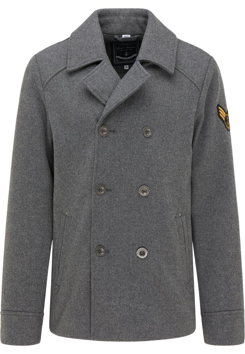 DreiMaster - Zimní kabát - grau melange