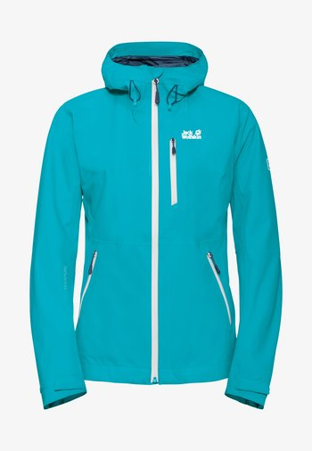 EAGLE PEAK - Waterproof jacket - dark aqua