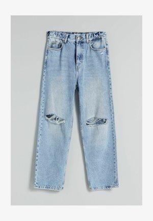 Džíny Straight Fit - blue denim