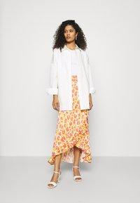 Fabienne Chapot - BOBO FRILL CATO SKIRT - Wrap skirt - pink - 1