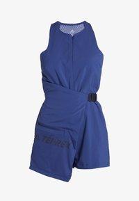 adidas Performance - TERREX HIKE JUMPSUIT - Trainingsanzug - dark blue - 6
