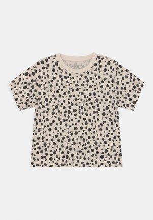 UNISEX - Print T-shirt - beige